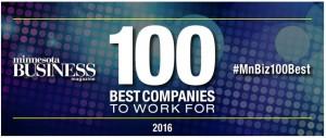 MN Biz 100 best blue logo