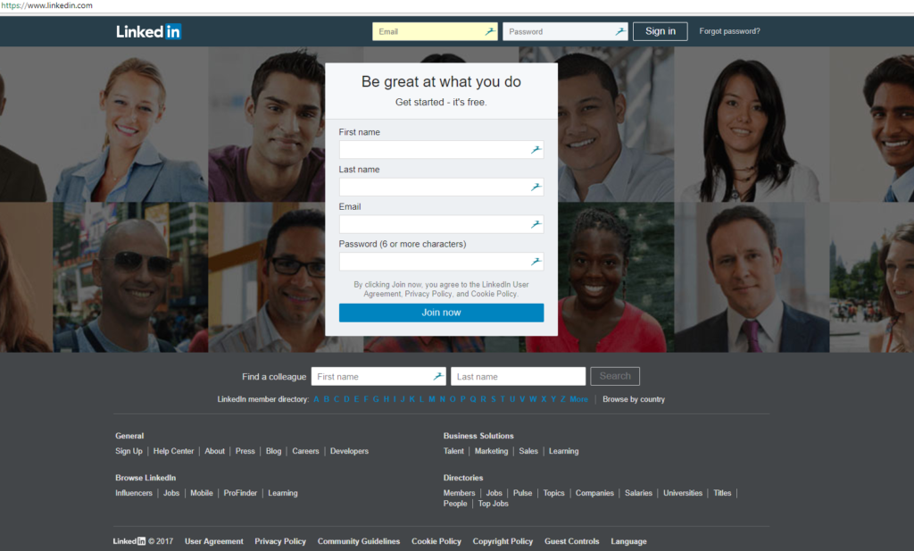 Update your LinkedIn profile in 20 minutes or less   AmbrionUpdate